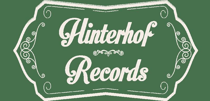 Hinterhof Records Logo weiß