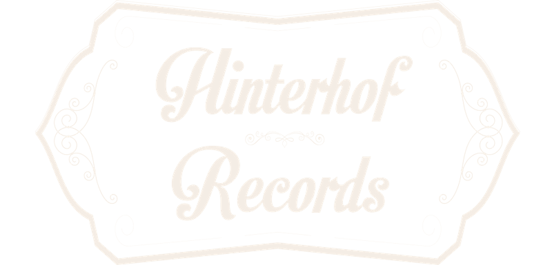 Hinterhof Records Logo Tonstudio Weiß