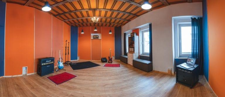 Tonstudio und Aufnahmeraum