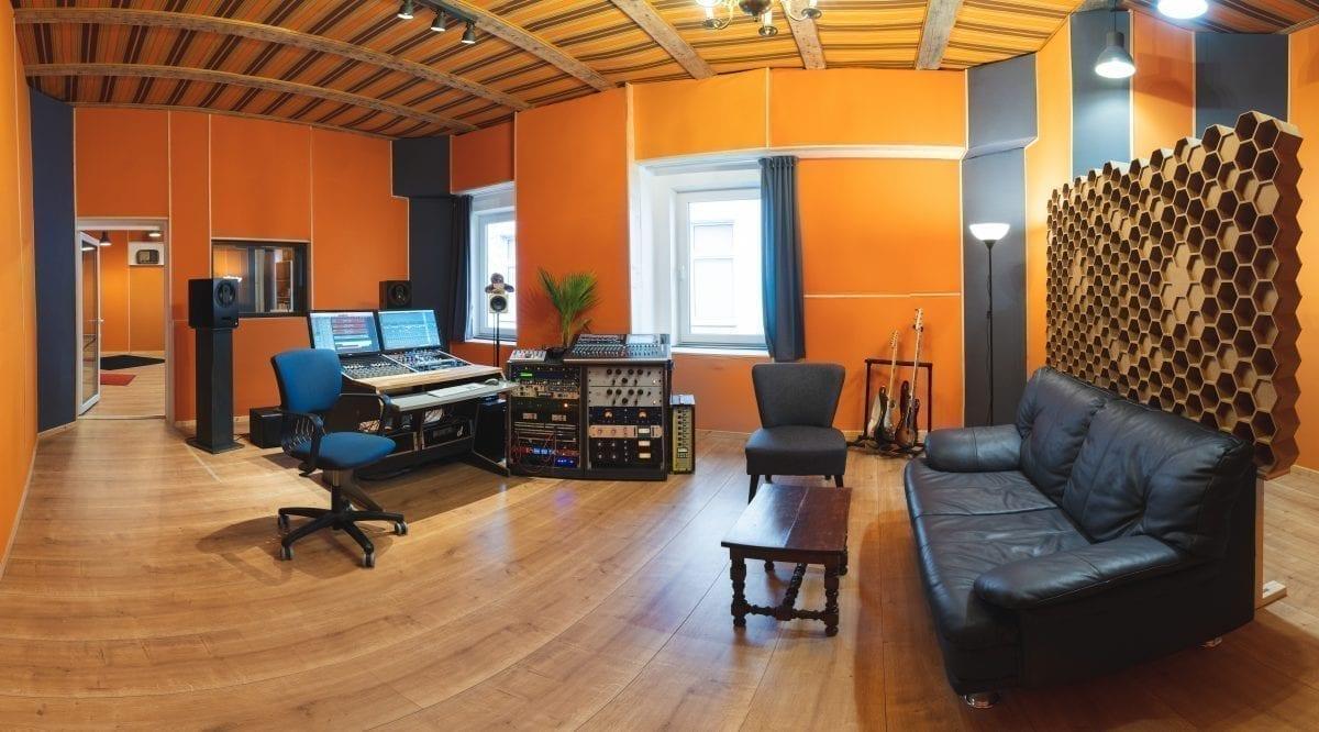 Tonstudio und Producing Raum